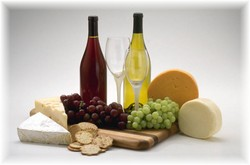Barsac Wine + Cheese Logo and Images