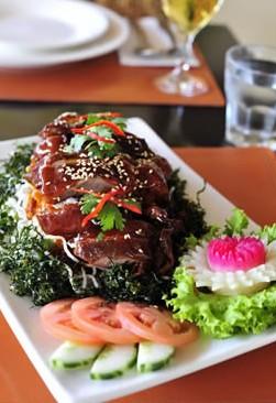 Siam Sunset Thai Restaurant Logo and Images