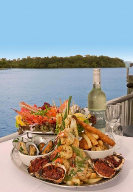 The River Deck On Noosa Marina Logo and Images