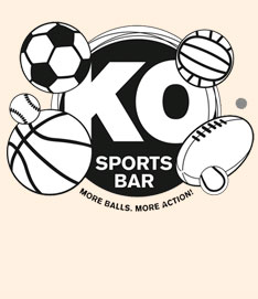 The KO Sports Bar Image