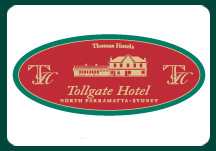 Tollgate Hotel Logo and Images