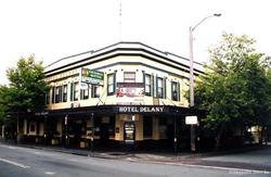 The Hotel Delany Logo and Images