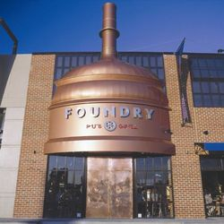 Foundry Pub & Grill Logo and Images