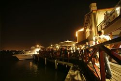 The Lucky Shag Waterfront Bar Logo and Images