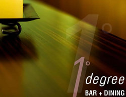 One Degree Bar and Dining Logo and Images