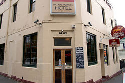 Baden Powell Hotel Logo and Images