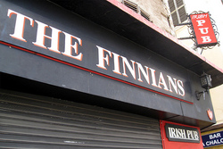 Finnian's Irish Tavern Logo and Images