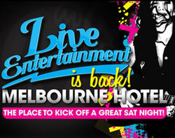 Melbourne Hotel Logo and Images