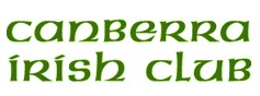 Canberra Irish Club Logo and Images