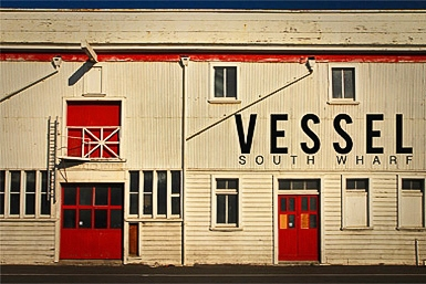 Vessel South Wharf Logo and Images