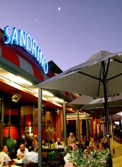 Sandrino Cafe & Pizzeria Logo and Images