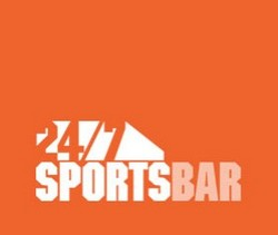 24/7 Sports Bar Logo and Images