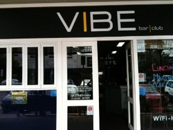 Vibe Bar and Restaurant Logo and Images