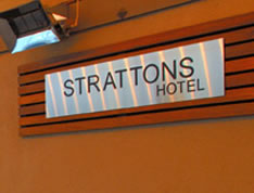 Strattons Hotel Logo and Images