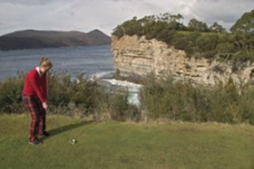 Tasman Golf Club Logo and Images