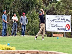 Bordertown Golf Club Logo and Images