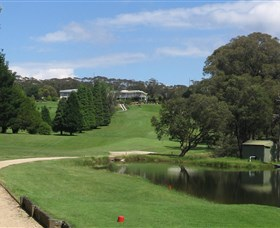 Wentworth Falls Country Club Logo and Images