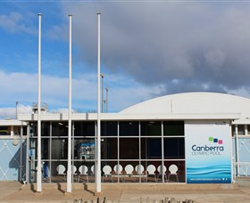 Canberra Olympic Pool and Health Club Logo and Images