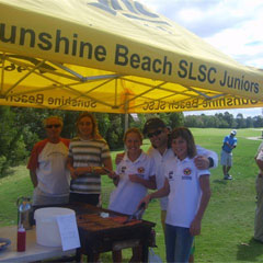 Sunshine Beach Surf Life Saving Club Logo and Images