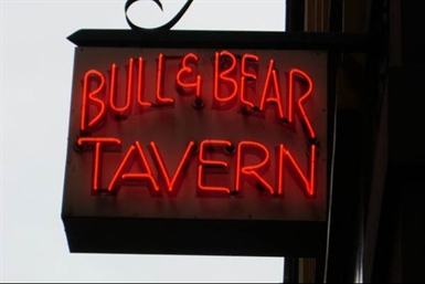 Bull And Bear Tavern Logo and Images