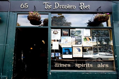 The Drunken Poet Logo and Images