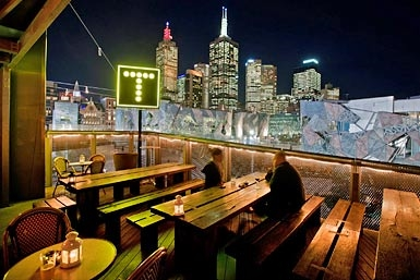 Transit Rooftop Bar Logo and Images