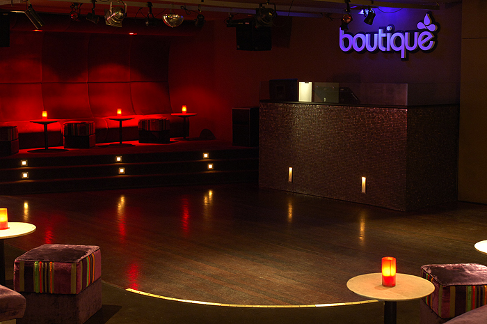 Boutique Nightclub Logo and Images