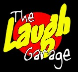 The Laugh Garage Logo and Images