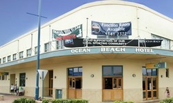 Ocean Beach Hotel Logo and Images