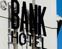 Bank Hotel Logo and Images
