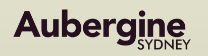 Aubergine Sydney Logo and Images