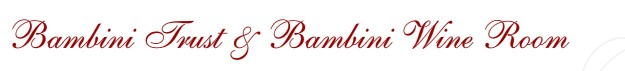 Bambini Trust Restaurant & Wine Room Logo and Images