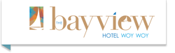 Bay View Hotel Logo and Images
