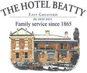 Beatty Hotel Logo and Images