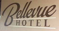 Bellevue Hotel Logo and Images