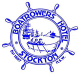 Boatrowers Hotel Logo and Images