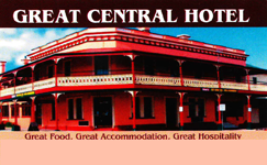 Great Central Hotel Logo and Images