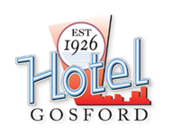 Hotel Gosford Logo and Images