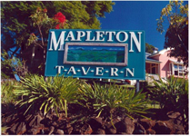 Mapleton Tavern Logo and Images