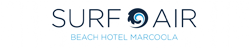 SurfAir Beach Hotel Logo and Images