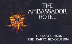 The Ambassador Hotel Logo and Images