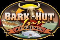 The Bark Hut Inn Logo and Images