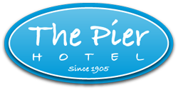 The Pier Hotel Logo and Images