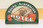 Young Australian Hotel Logo and Images