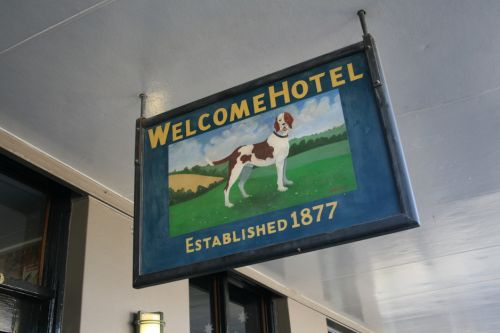 Welcome Hotel Logo and Images