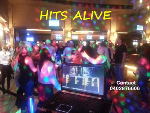 Hits Alive Karaoke & DJ's Logo and Images