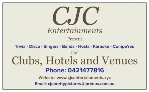CJC Entertainments Logo and Images