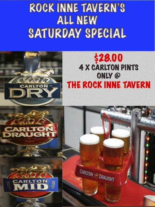 Rock Inne Tavern & Hot Rocks Restaurant Logo and Images