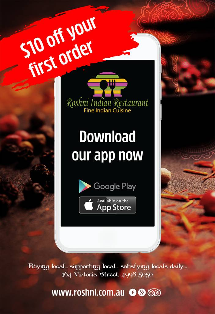 Roshni Fine Indian Cuisine Logo and Images