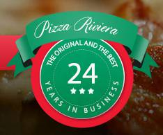 Pizza Riviera Logo and Images